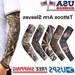 10 pcs Tattoo Cooling Arm Sleeves Cover Basketball Golf Spor