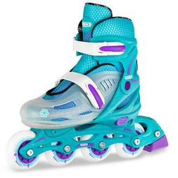 Crazy Skates Adjustable Inline Skates - Available in Four Co