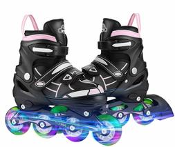 Adjustable Inline Skates Roller Blades Unisex Adult/Kid Brea