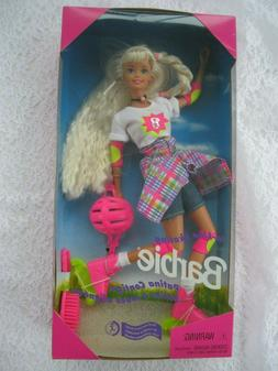 barbie in line skating rollerblade doll foreign