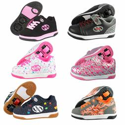 Heelys Children's Roller Shoes X2 Dual Up Double Roller Heel
