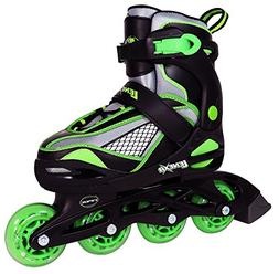 Inline Skates for Girls and Boys with Adjustable Sizing | Le