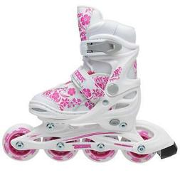 Roces Girls Compy 8.0 Skates Inline Anatomically Padded