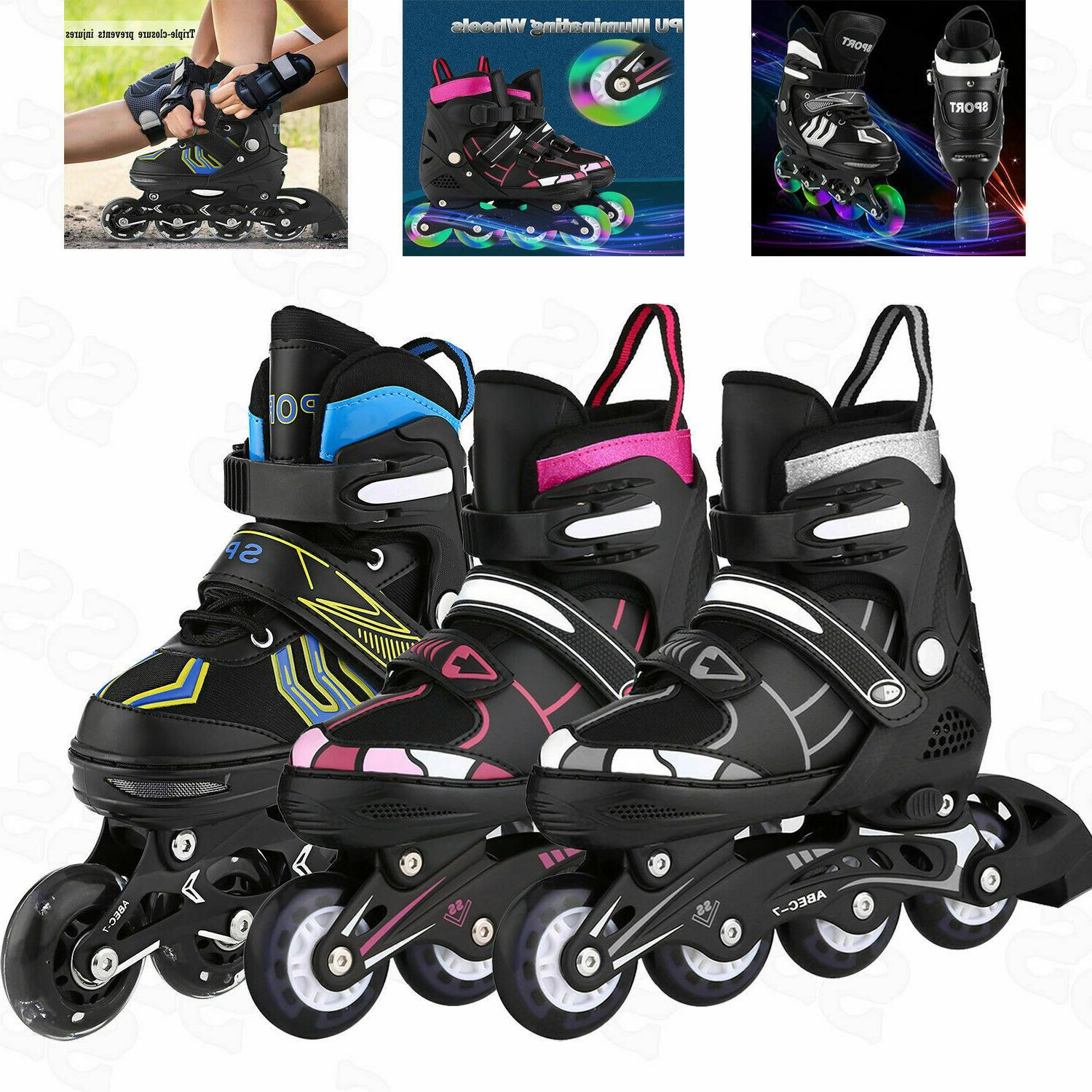 Adjustable Inline Skates Roller Blades Adult or Kid  Breatha
