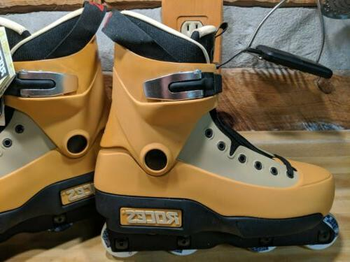 Roces Fifth Element Inline Skates 7.5 UK SIZE 40.5 GOLD