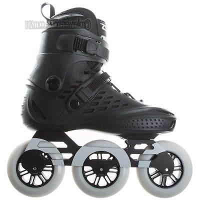 Roces 3x110 Recreational Fitness 110mm Skates 7.0 New