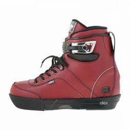 Valo Lights BS.1 Oxblood Aggressive Inline Skates Boot Only