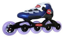 In-line Speed Skates by Trurev with 5 wheels and 90mm skate