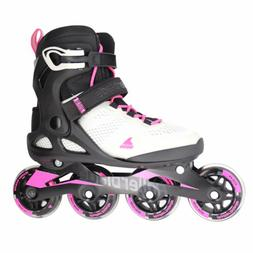 MACROBLADE 80 W COOL GREY/CANDY PINK WOMENS INLINE SKATES Si