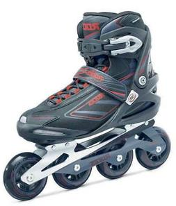 Roces Men's IZI Sporty Fitness Inline Skates Blades Black-Ch
