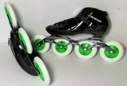 Powerslide ONE carbon speed skates with Matter G 13 wheels s