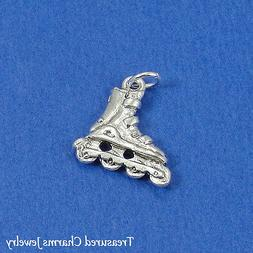 Silver ROLLERBLADE Inline Skate CHARM PENDANT