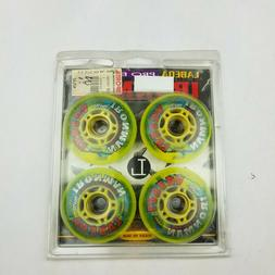 Vintage Lot of 4 New Labeda Inline Wheels 76mm Cross Trainer