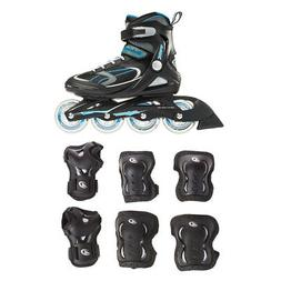 Rollerblade Womens Adult Inline Skate, Size 7 & Protective S